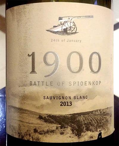 Отзыв об игристом вине 1900 Battle of Spioenkop Sauvignon Blanc 2013