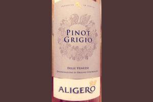 Отзыв о вине Aligero Pinot Grigio delle Venezie 2017