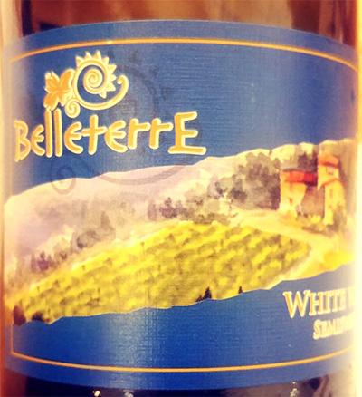 Отзыв о вине Belleterre White semisweet 2017