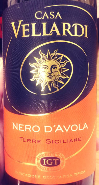 Отзыв о вине Casa Vellardi Nero d'Avola 2016