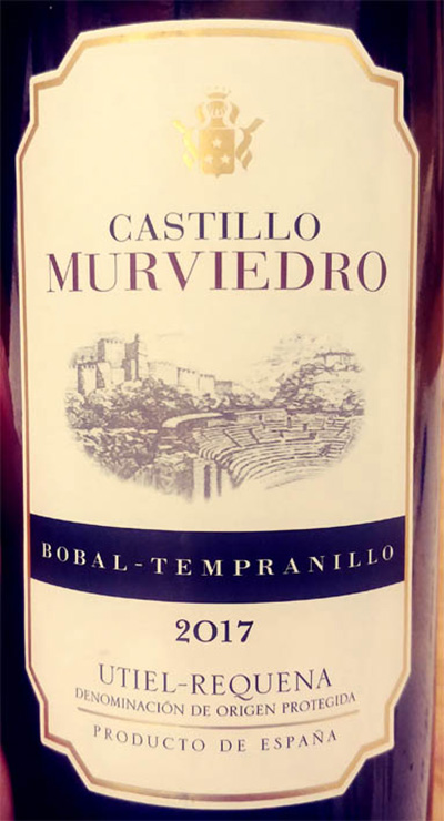 Отзыв о вине Castillo Murviedro Bobal Tempranillo 2017
