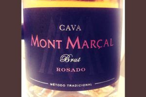 Отзыв об игристом вине Cava Mont Marcal brut rosado