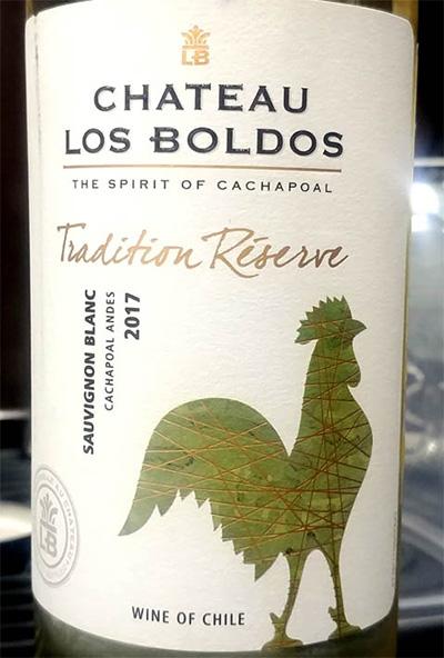 Отзыв о вине Chateau los Boldos Sauvignon Blanc Tradition reserve 2017