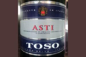 Отзыв об игристом вине Cossano Belbo Asti Toso