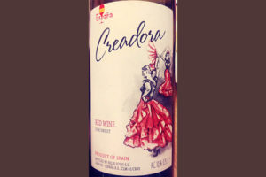 Отзыв о вине Creadora Red Wine semisweet 2017