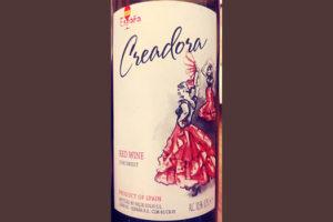 Отзыв о вине Creadora Red Wine semisweet 2017