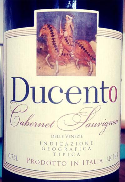Отзыв о вине Ducento Cabernet Sauvignon 2012