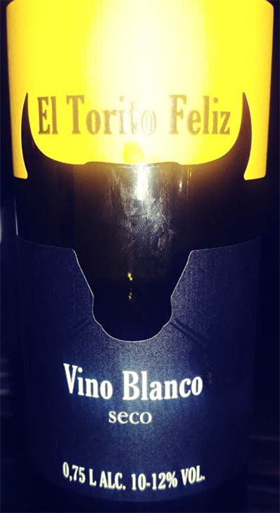 Отзыв о вине El Torito Feliz Vino blanco seco 2017