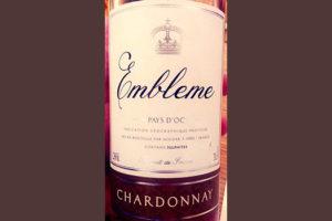 Отзыв о вине Embleme Chardonnay Pays d'Oc 2017