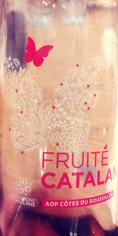 Отзыв о вине Friute Catalan Cotes du Roussillon rose 2017