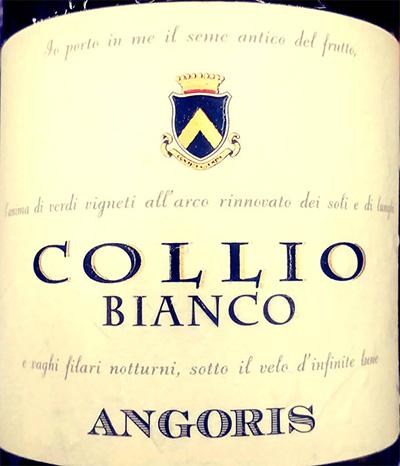 Отзыв о вине Giulio Locatelli Angorio Collio Bianco riserva 2016