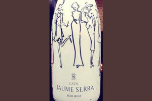 Отзыв об игристом вине Jaume Serra Cava semi seco