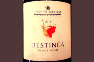 Отзыв о вине Joseph Mellot Destinea Pinot Noir 2016