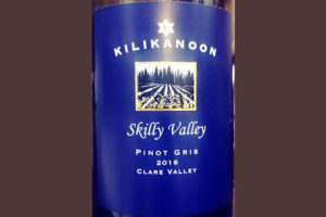 Отзыв о вине Kilikanoon Skilly Valley Pinot Gris 2016