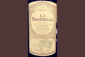Отзыв о вине La Passerelle Pays d'Oc Cabernet Sauvignon 2016