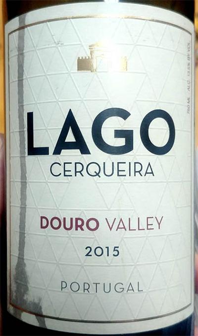 Отзыв о вине Lago Cerqueira Douro Valley 2015
