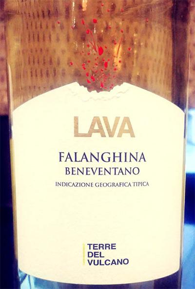 Отзыв о вине Lava Falanghina Beneventano Terre del vulcano 2017