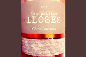 Отзыв о вине Les Petites Lloses Cotes Catalanes rose 2017