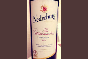 Отзыв о вине Nederburg The Winemasters Pinotage 2016