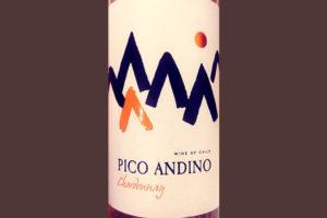 Отзыв о вине Pico Andino Chardonnay 2017