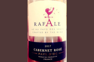 Отзыв о вине Rafale Cabernet rose Pays d'Oc 2017