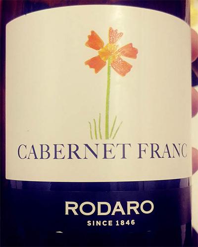 Отзыв о вине Rodaro Cabernet Franc Colli Orientali del Friuli 2016