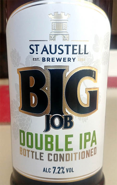 Отзыв о St. Austell Brewery Big Job Double IPA