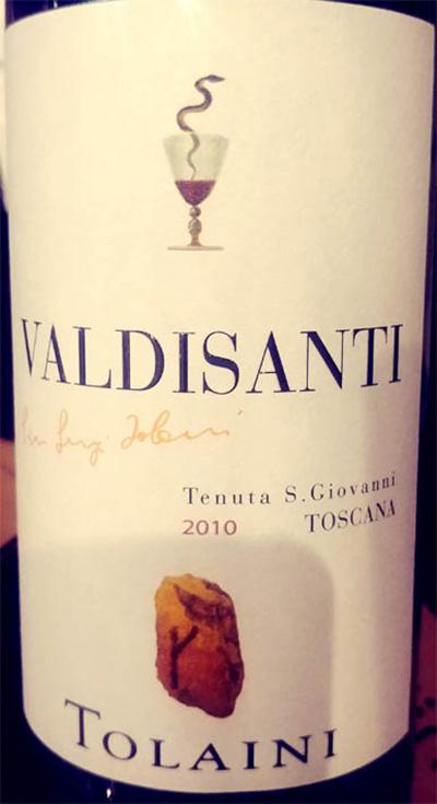 Отзыв о вине Tolaini Valdisanti Toscana 2010