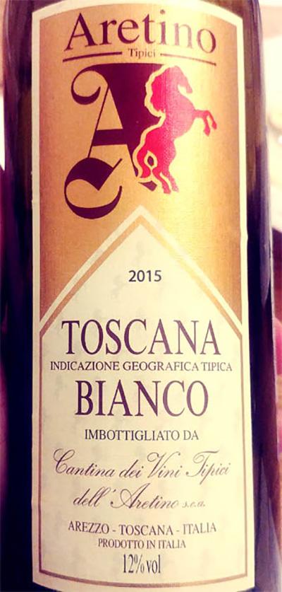 Отзыв о вине Aretino Tipici Toscana Bianco 2015