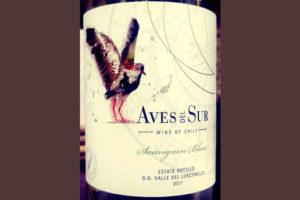 Отзыв о вине Aves del Sur Sauvignon blanc 2017