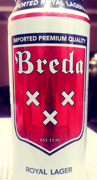 Отзыв о пиве Breda Royal lager