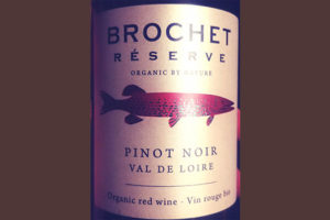 Отзыв о вине Brochet reserve Pinot Noir Val de Loire organic 2017