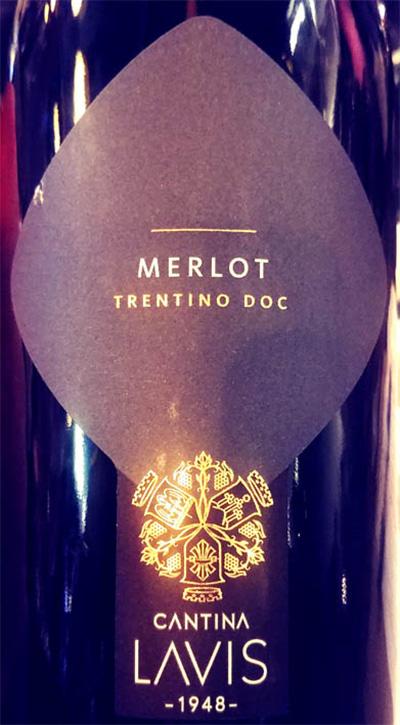 Отзыв о вине Cantina Lavis Merlot Trentino DOC 2017