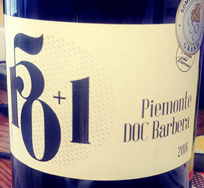 Отзыв о вине Casali del Barone 150+1 Piemonte DOC Barbera 2016