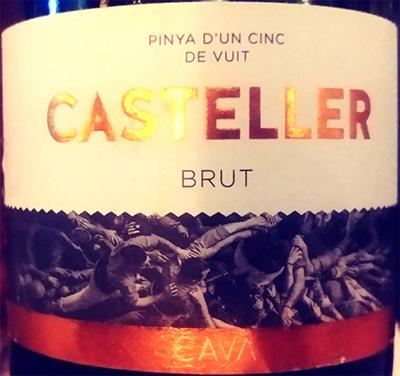 Отзыв об игристом вине Casteller brut CAVA