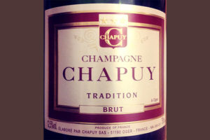 Отзыв о шампанском Champagne Chapuy Tradition brut NV