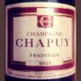 Отзыв о шампанском Champagne Chapuy Tradition brut NV