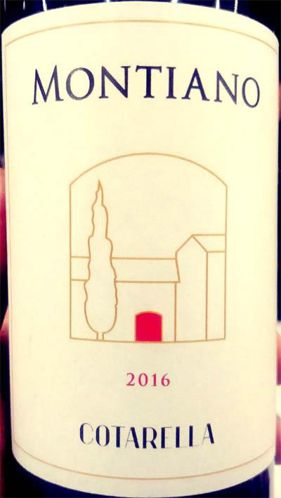 Отзыв о вине Cotarella Montiano merlot 2016