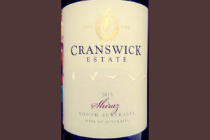Отзыв о вине Cranswick Estate Shiraz 2015