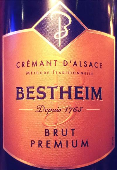 Отзыв об игристом вине Cremant d'Alsace Bestheim Brut Premiun blanc 2018