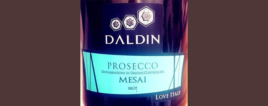 Отзыв об игристом вине Daldin Prosecco Mesai Brut