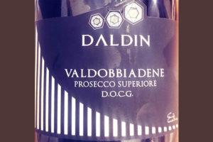 Отзыв об игристом вине Daldin Valdobbiadene Prosecco superiore