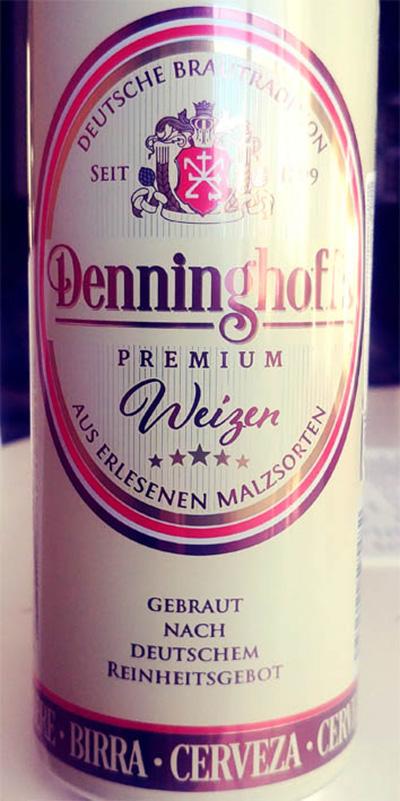 Отзыв о пиве Denninghoff's weizen premium
