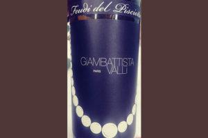 Отзыв о вине Feudi del Pisciotto Giambattista Valli Paris 2014