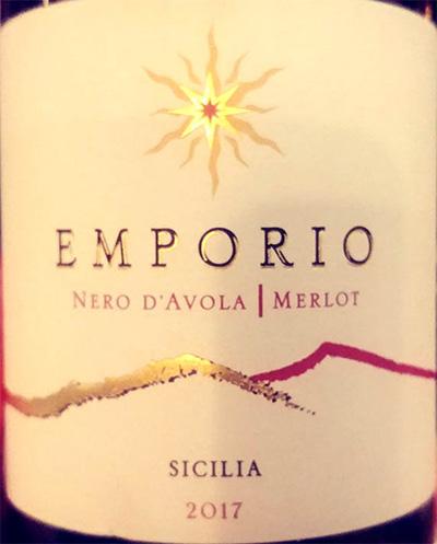 Отзыв о вине Firriato Emporio Nero d'Avola Merlot Sicilia 2017