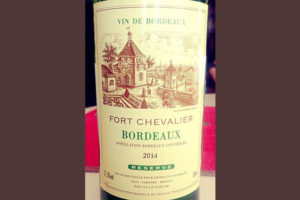 Отзыв о вине Fort Chevalier Bordeaux blanc reserve 2014