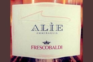 Отзыв о вине Frescobaldi Alie Ammiraglia rose 2017