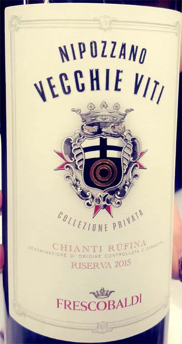 Отзыв о вине Frescobaldi Nipozzano Vecchie Viti Chianti Rufina riserva 2015