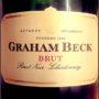 Отзыв об игристом вине Graham Beck brut Pinot Noir Chardonnay