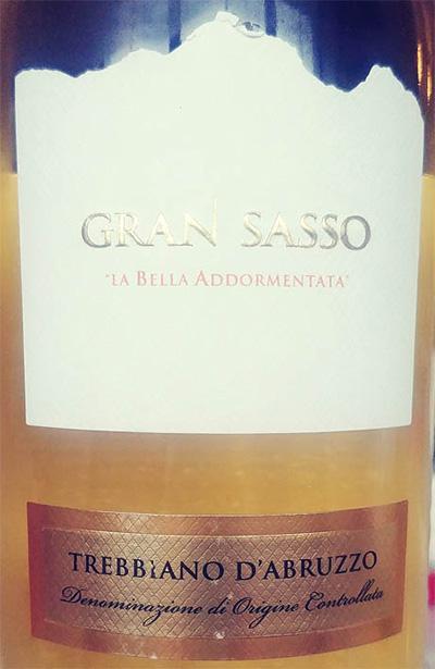 Отзыв о вине Gran Sasso La Bella Addormentata Trebbiano d'Abruzzo 2016